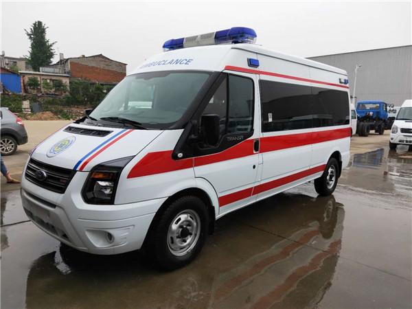 福特救护车福特新世代长轴救护车