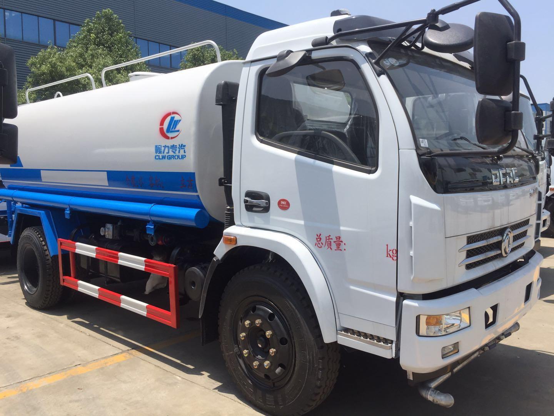国五东风福瑞卡8吨洒水车8吨洒水车图片