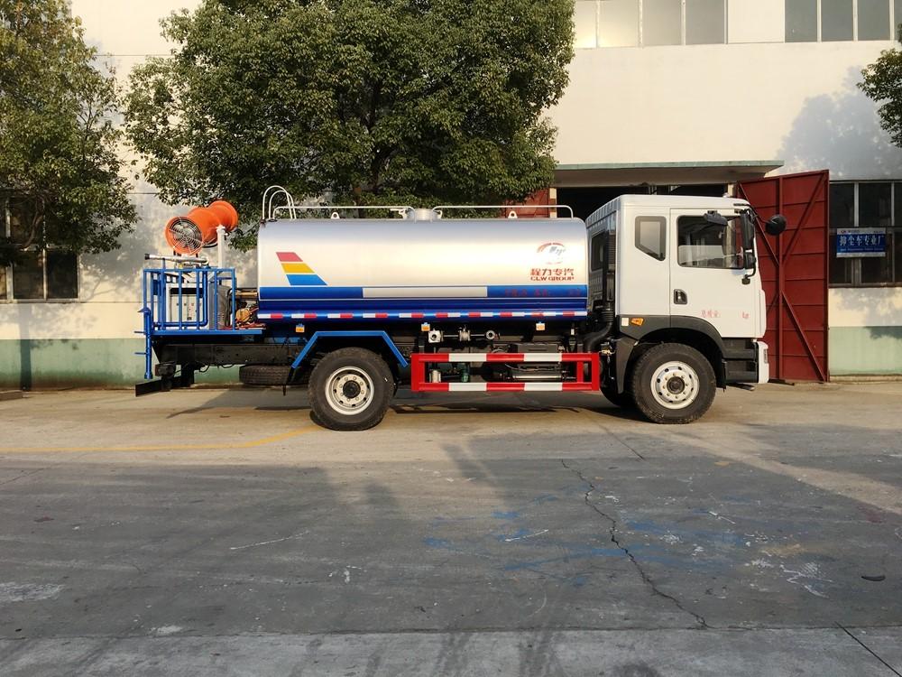 国五东风多利卡14吨洒水车15吨洒水车图片