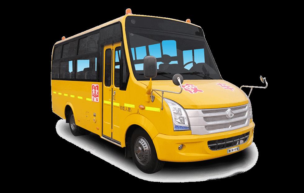 长安牌SC6635型24-27座小学生专用校车图片