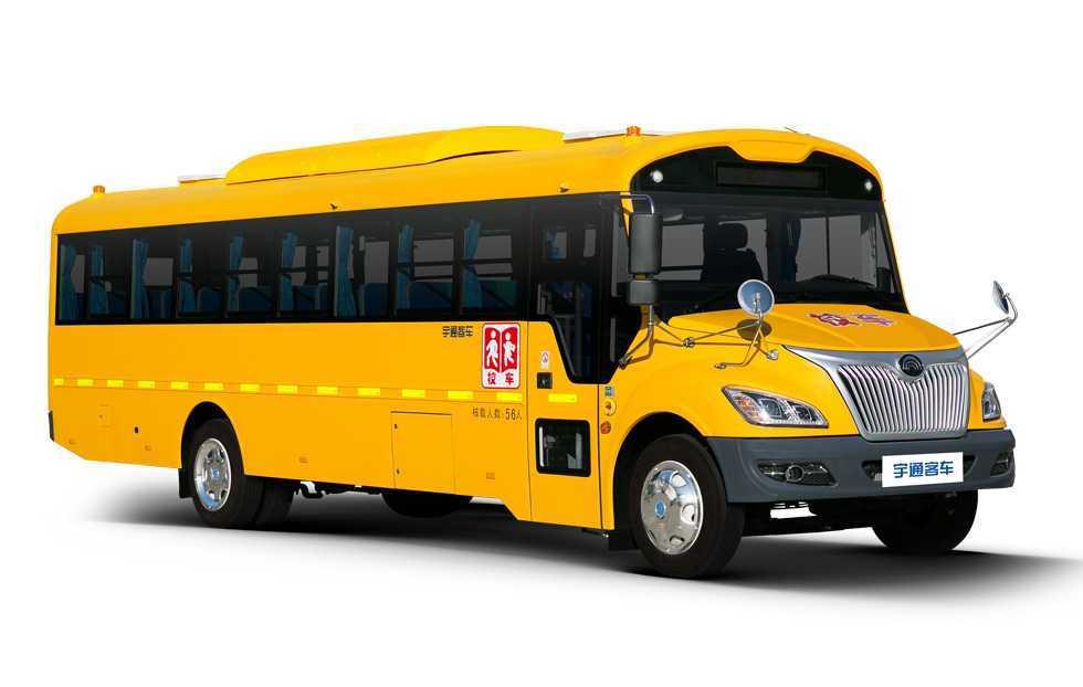 宇通牌ZK6105DX型 38-56座中小学生专用校车图片