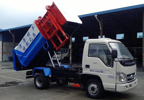 福田时代5方挂桶垃圾车挂桶垃圾车图片