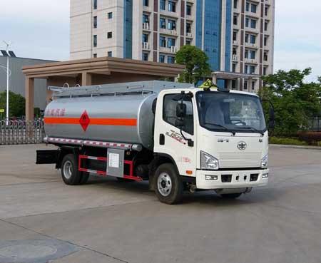 解放虎威8吨油罐车解放油罐车图片