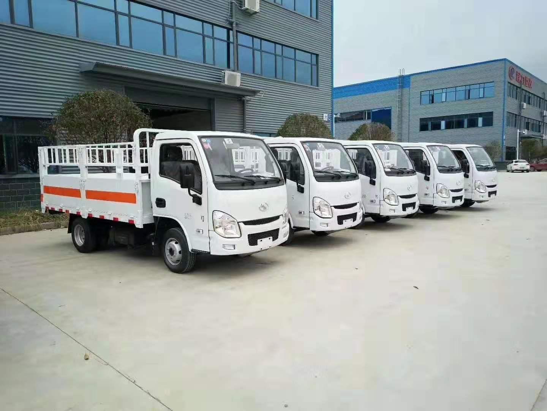 國六汽油躍進小福星3.3米氣瓶運輸車圖片