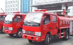 东风3.5吨消防洒水双排消防洒水车—车价格|厂家-程力专用汽车股份有限公司图片