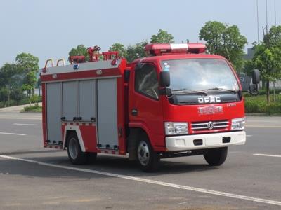 东风蓝牌1.5吨水罐消防车水罐消防车图片
