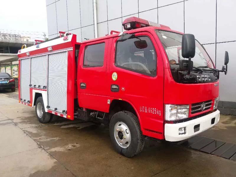 东风2.5吨水罐消防车水罐消防车图片