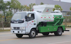 餐厨垃圾车的功能,餐厨垃圾车在生活中的重要性图片