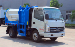 凯马侧挂压缩垃圾车特点,垃圾车用途图片
