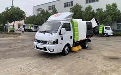 东风途逸小型扫路车多少钱图片