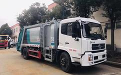 东风天锦12方压缩垃圾车配置,压缩垃圾车厂家图片