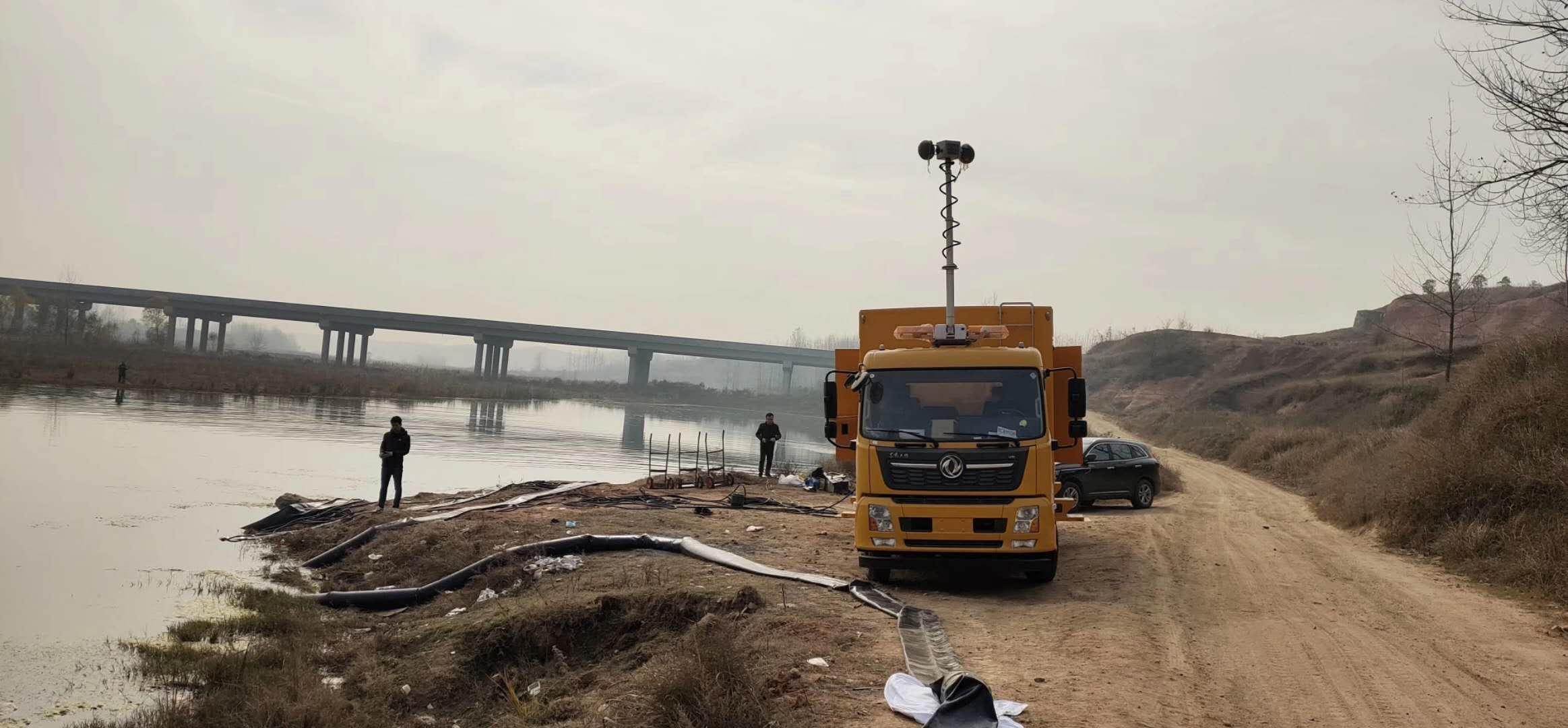 东风天锦大流量应急发电供电抢险排涝车厂家最新报价图片