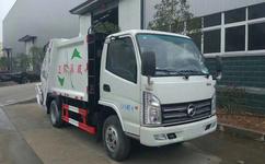 凯马蓝牌3-4立方压缩式垃圾车--厂家最新价格|报价-图片图片