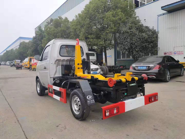 国六2.5-3.5立方长安小勾臂垃圾车重庆110马力图片