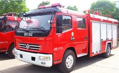 消防洒水车--东风多利卡泡沫消防车厂家价格图片-程力汽车网图片