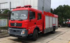 东风153型消防洒水车图片