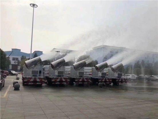 国五国六东风天锦10--12方洒水车雾炮车消毒车价格,周厂长推荐图片