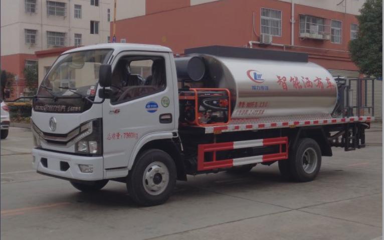 东风国六4方沥青撒布车(全智能型)图片