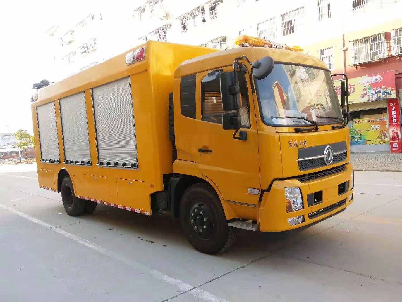 城市防汛移动排涝泵车图片