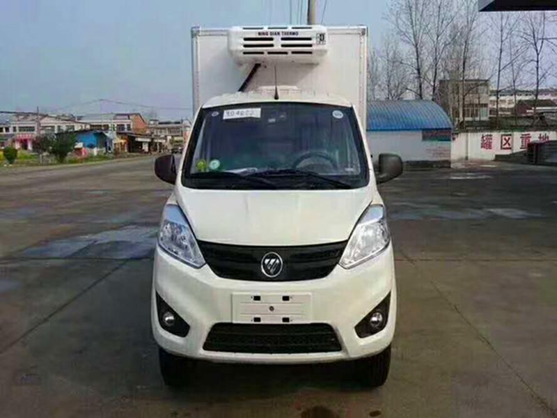 国六福田祥菱小型冷藏车图片