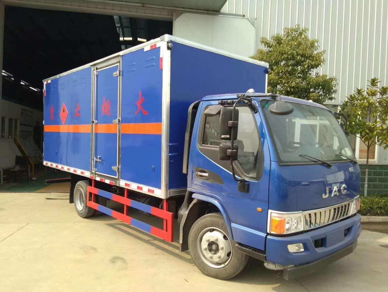江淮黄牌5.1米易燃液体载重5吨运输车图片