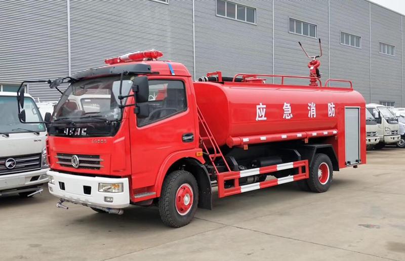 程力消防洒水车-8吨消防洒水车专用配置价格图片
