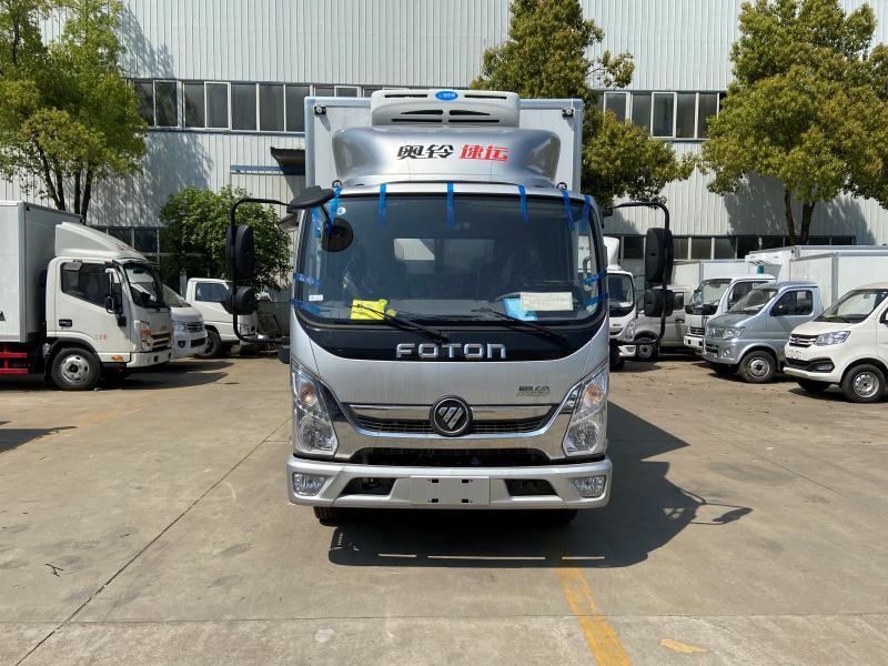 4米2左右的冷藏车_福田奥铃速运冷藏车_厢式冷藏车图片
