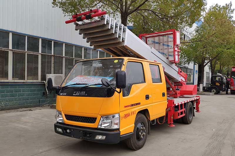 程力32米云梯车江铃顺达云梯搬家车厂家直供价格参数图片