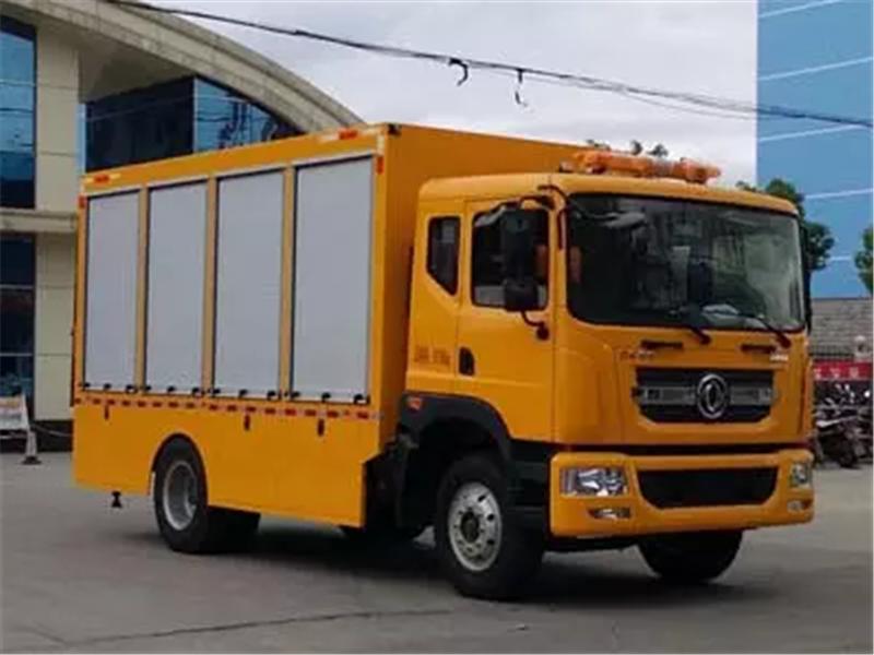 国六东风D9轨道交通救援车