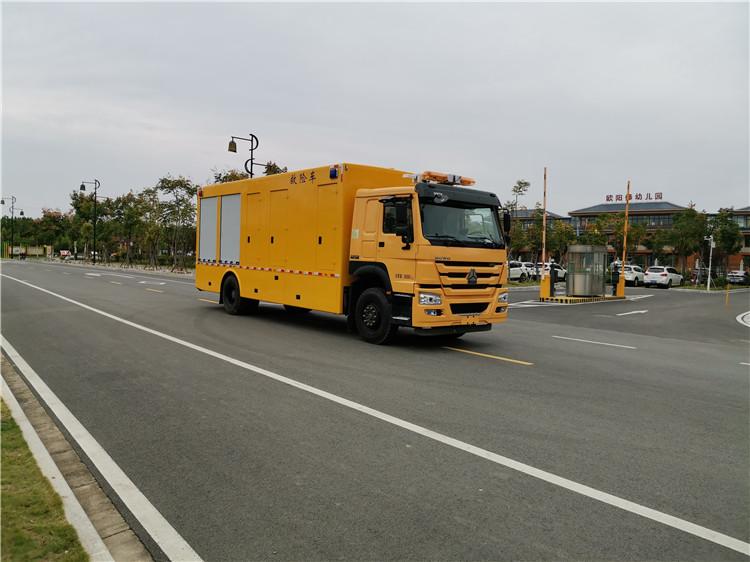 国六重汽豪沃救险车