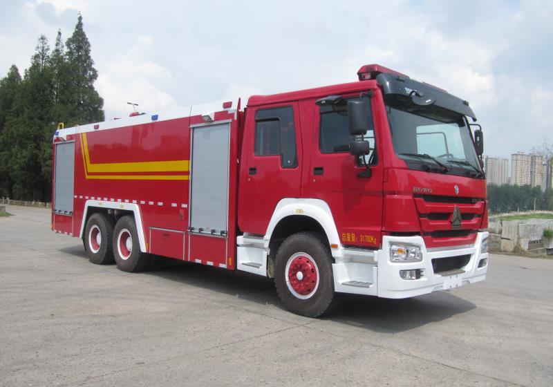 JDF5204GXFSG80型水罐消防车 技 术 规 格 书图片