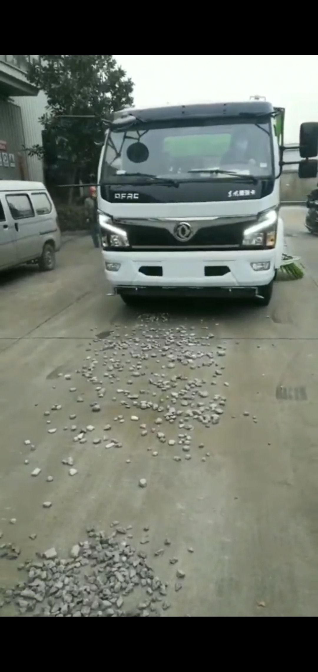 国六多利卡10方洗扫车