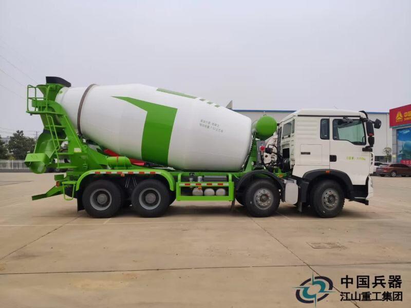 重汽T5G/TX轻量化搅拌车大量现货供应