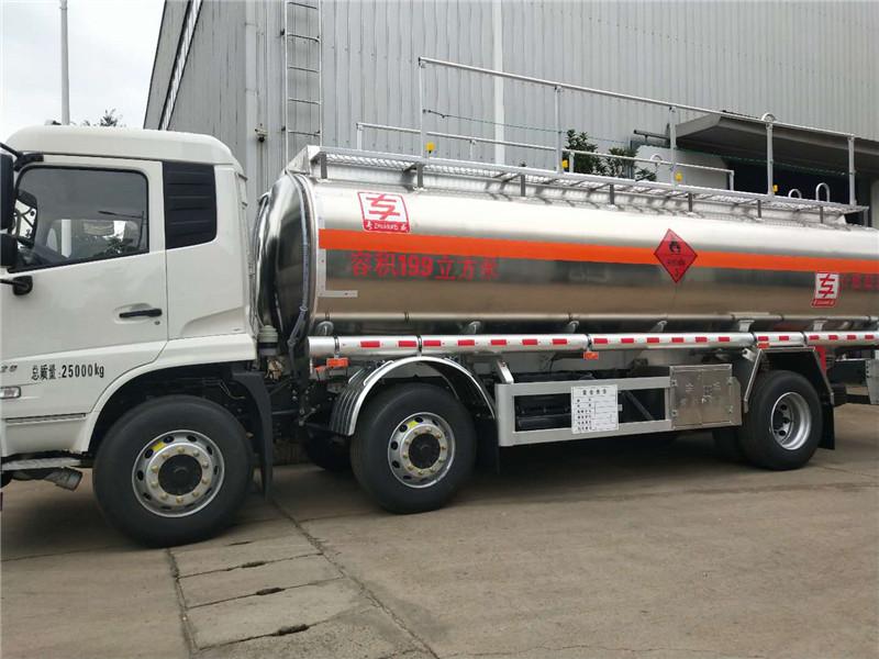 东风天锦 小三轴 16吨 油罐车 上户无忧 厂家直销 视频