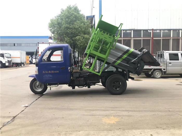 小三轮餐厨垃圾车-地下室可进餐厨垃圾车-小巷收集餐厨垃圾车图片