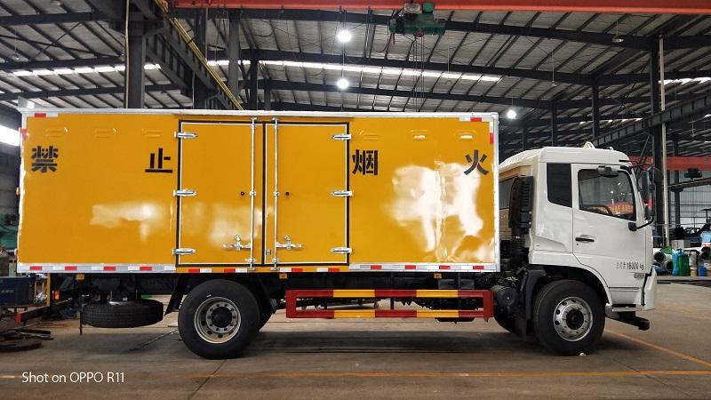 6.2米爆破器材运输车,东风天锦爆破器材运输车参数视频