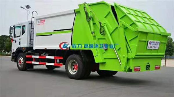 国六压缩垃圾车-国六垃圾车个性定制图片