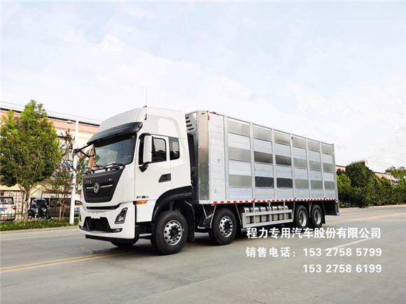 东风天龙智能恒温畜牧运输车功能介绍及制造结构