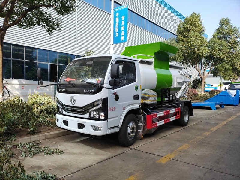 东风多利卡D6圆罐餐厨垃圾车(CL5070TCAE6)图片