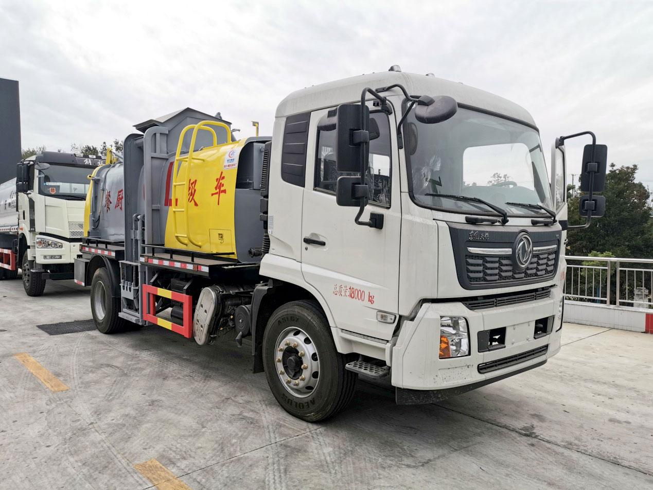 东风天锦餐厨垃圾车(CL5188TCACC6)图片