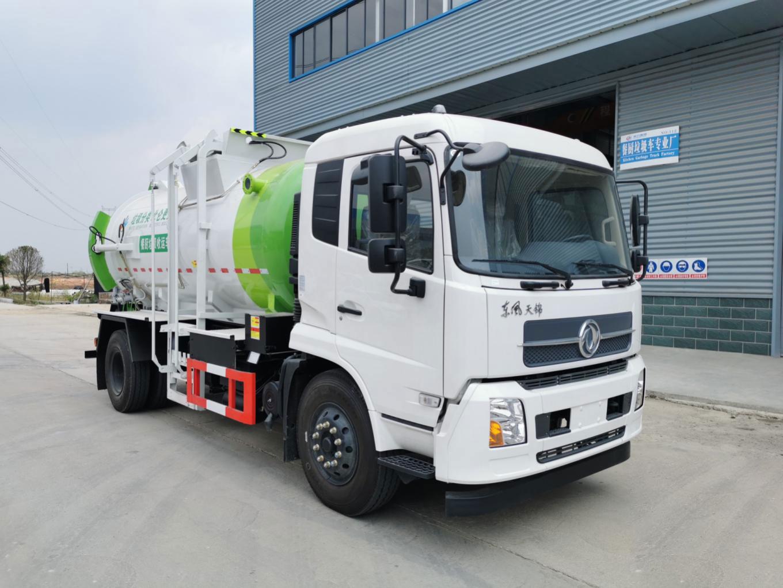 东风天锦餐厨垃圾车(CLW5180TCAD6)图片