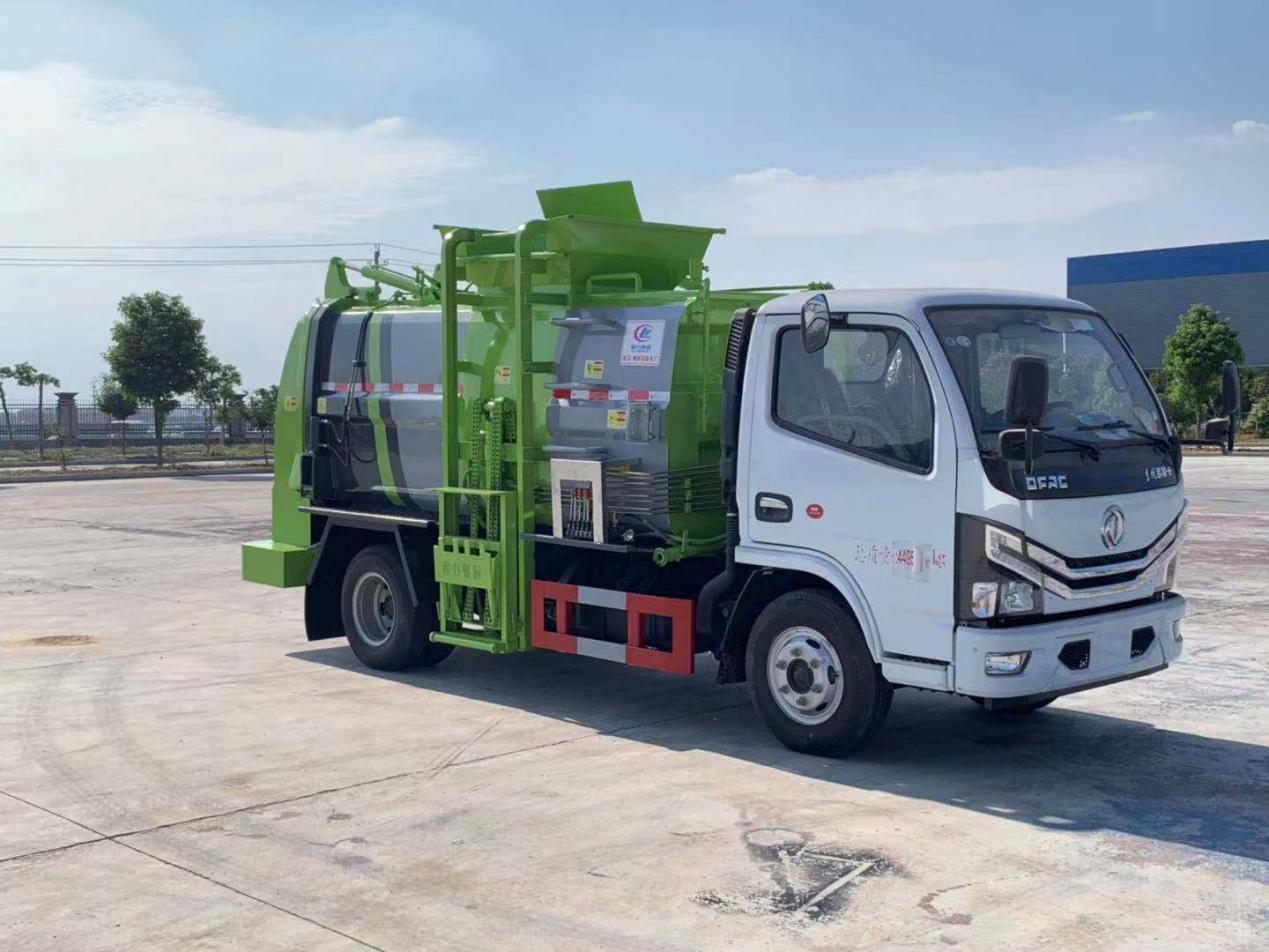 国六东风多利卡D6餐厨垃圾车(CL5071TCACC6)