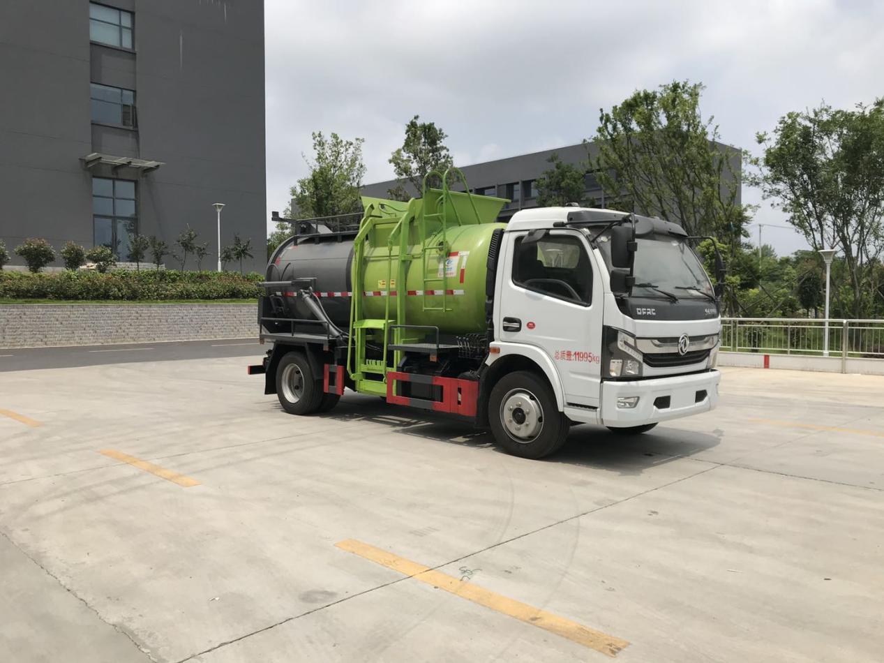 东风多利卡D7餐厨垃圾车(CLW5120TCA6)