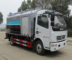 东风多利卡D7国六清洗吸污车(HLW5120GQW6EQ)图片