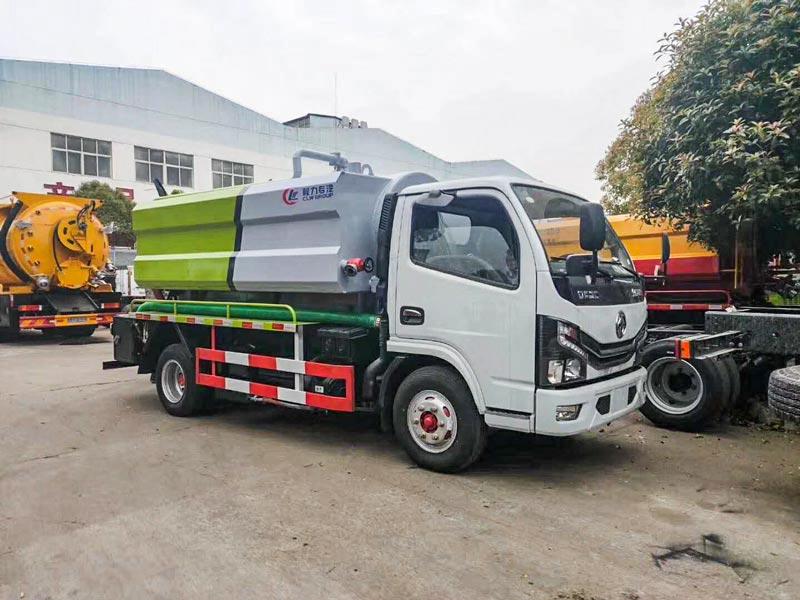 国六东风多利卡清洗吸污车(CLW5040GQW6)