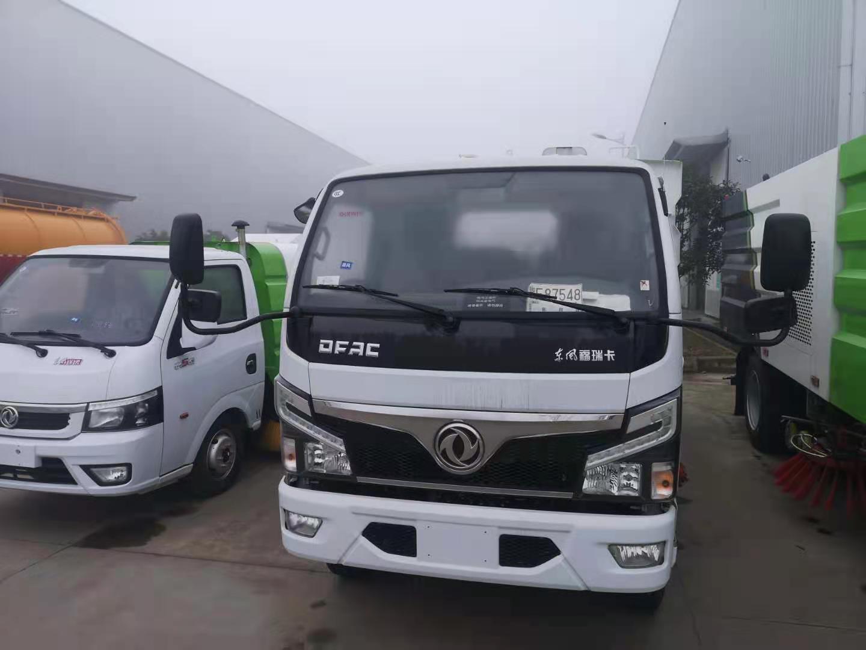 5吨国六小型东风天锦多功能洗扫车品牌专业供应商送货上门图片