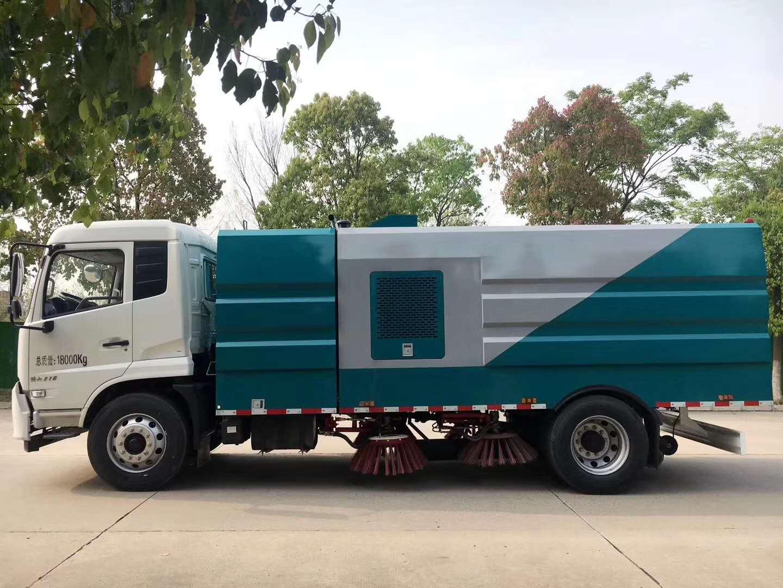 专用环卫洗扫车10吨国六东风天锦洗扫车康明斯190马力图片