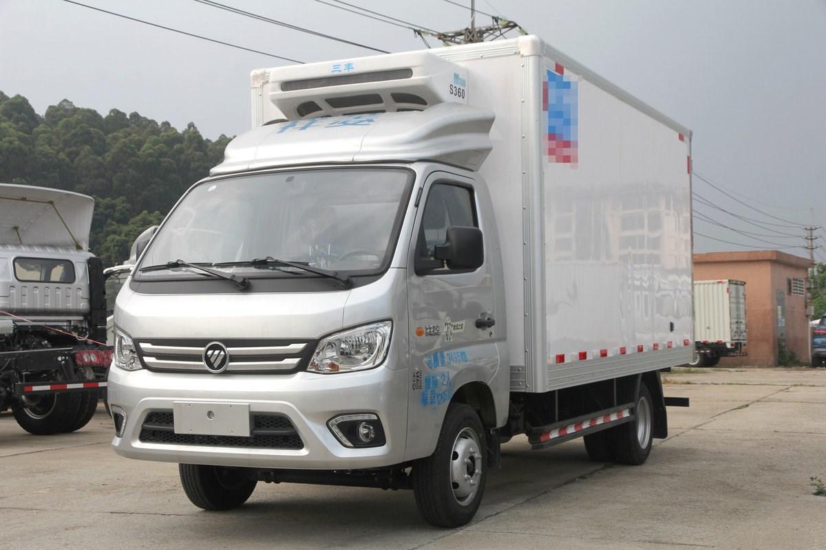 福田祥菱M2 物流之星 116马力 3.7米冷藏车图片
