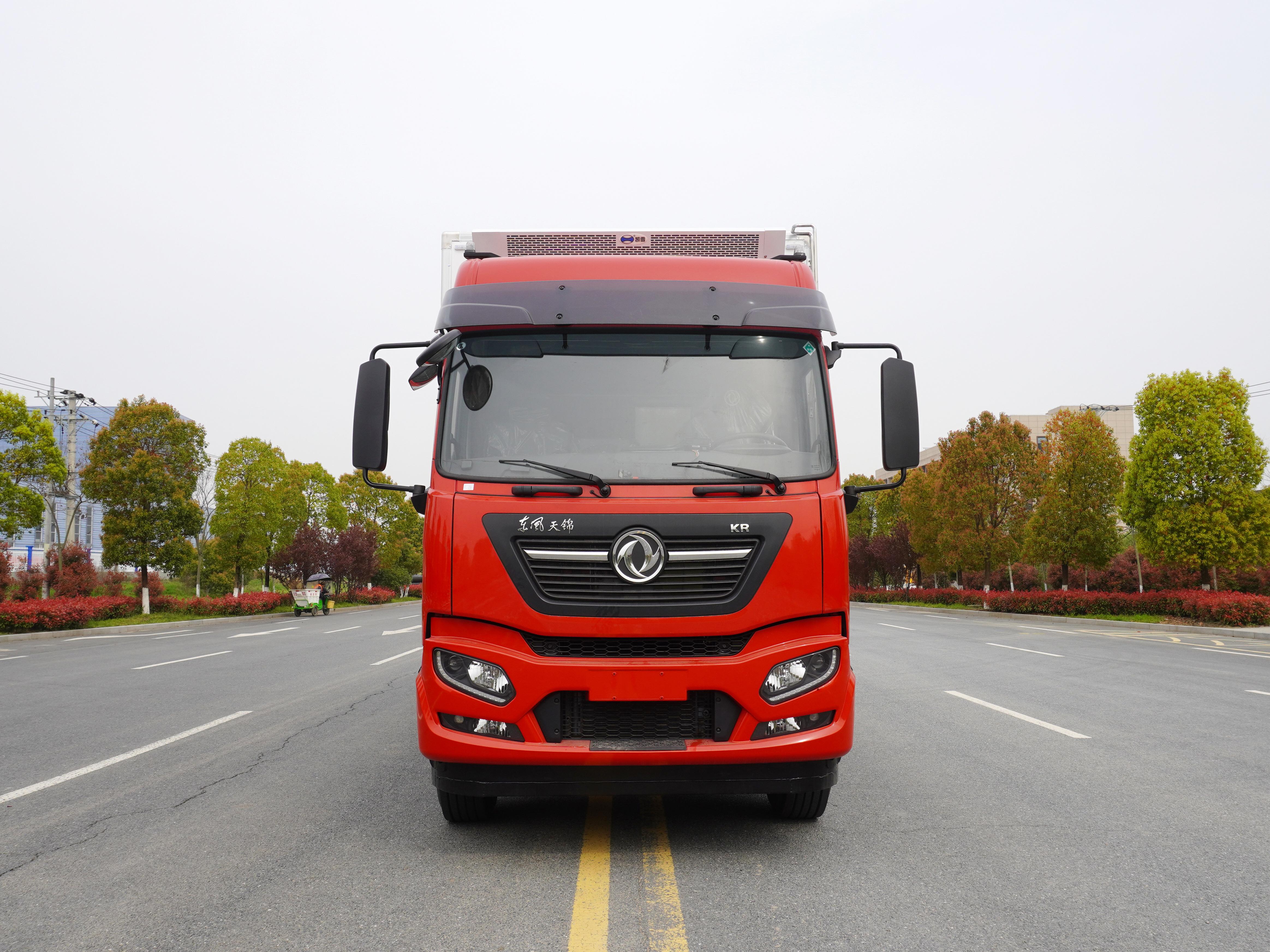 东风天锦KR6.8米冷藏车厂家直销
