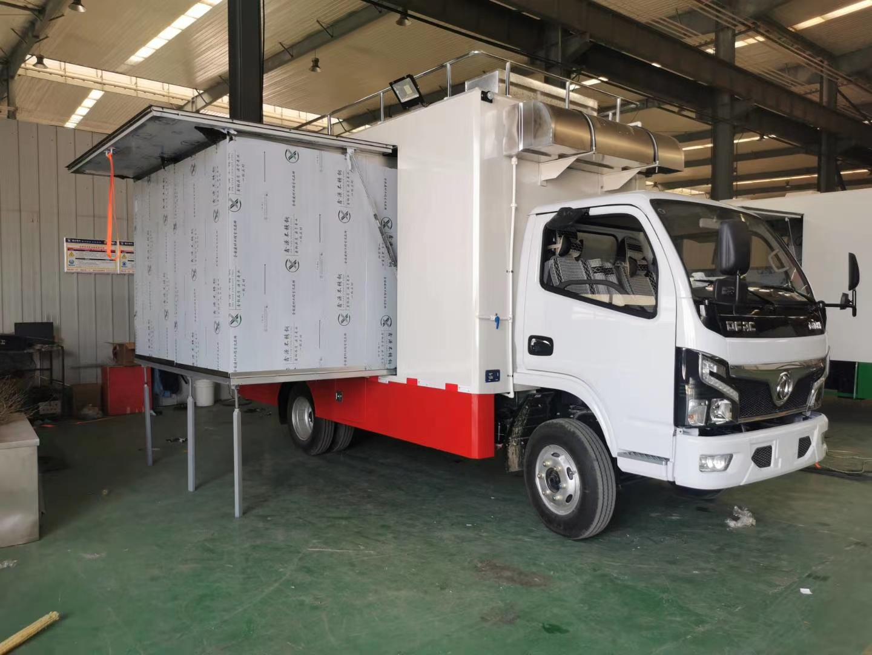 国六东风小多利卡餐车